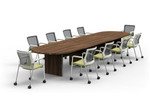 cherryman amber expandable conference table am-410n