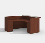 amber cherry reception desk