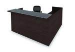 cherryman amber series reception desk am-400n