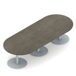 Global Swap Collection 10' Modern Racetrack Conference Table SWP516