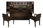 Cherryman Amber Series Black Cherry Executive Furniture Set