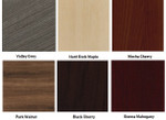 cherryman amber laminate finishes