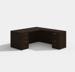 Cherryman Amber Series L Shaped Executive Desk AM-312N