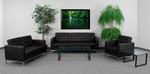 Flash Furniture Lacey 3 Piece Reception Furniture Set