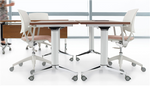 "Global Terina 60""W x 30""D Collaborative Nesting Table GFT3060R"