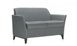 Global Total Office 5472 Camino Series Two Seat Sofa with Wood Legs