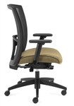 vion high back chair side profile