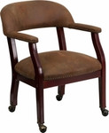 Flash Furniture Mahogany Wood Conference Chair