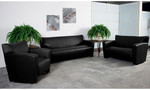 Flash Furniture Majesty Leather Lounge Furniture Set