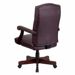 Flash Furniture Martha Washington Leather Executive Chair
