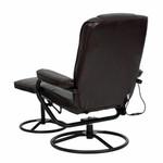 Flash Furniture Massaging Recliner BT-703-MASS-BN-GG