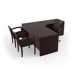 cherryman jade l shaped office desk ja-113r