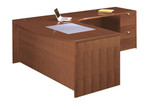 Cherryman Jade Collection Bow Front L Shaped Executive Desk JA-113R