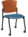 Global Twilight Wood Back Guest Chair 2199C