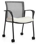 Global Vion Series 6325C Mesh Back Training Room Side Chair