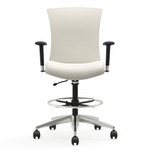vion fabric task stool front view