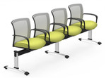 vion 4 person beam seating configuration