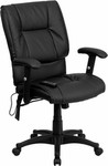 Flash Furniture Mid Back Massaging Executive Chair