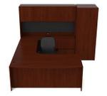 Cherryman Ruby Collection Office Desk and Wardrobe Cabinet Set RU-259