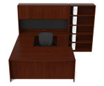 Cherryman Ruby Collection U Desk Configuration RU-260N