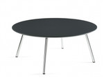 Global Wind Series Contemporary Round Coffee Table 3861