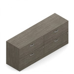 Global Zira 4 Drawer Lateral File Cabinet Credenza Z2072LF2