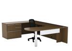 Cherryman Verde Arc End U Desk with Storage VL-723