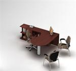 Global Zira Collaborative P-Island Desk