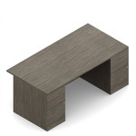 """Global Zira Collection 72"""" Straight Front Desk Z3672F32"""