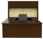 Cherryman Verde Series VL-677N U Desk with Hutch