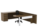Cherryman Verde U Desk with Storage VL-721