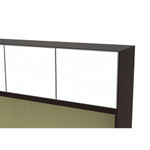 Cherryman Verde VL-705N Bowfront Desk with Credenza and Hutch