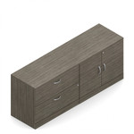 Global Zira Z2072LS File and Storage Combo Credenza