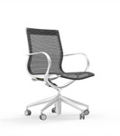 iDesk Curva Mid Back Mesh Executive Conference Chair CUR107