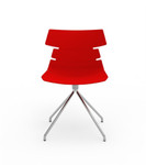 iDesk Tikal Guest Chair with Spider Base (4 Pack!)
