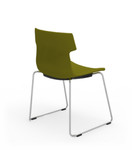 iDesk Tikal Upholstered Guest Chair with Sled Base (4 Pack!)