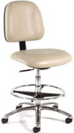 Intensa 813 Adjustable Laboratory Stool with Foot Ring