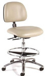 Intensa 833 Armless Laboratory Chair with Foot Ring