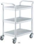 Intensa Multi Purpose Plastic Cart With Three Shelves