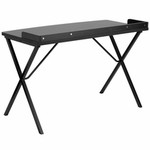 Flash Furniture Small Black Writing Desk