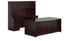 Mahogany Executive Furniture Set by Offices To Go