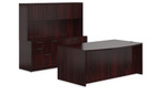 Mahogany Laminate Offices To Go Executive Set