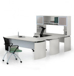 MNT35 Mayline Medina Office Desk (5 Finish Options!)