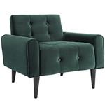 Modway Delve Contemporary Velvet Armchair (4 Color Options!)