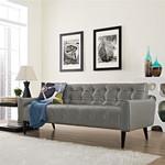 Modway Delve Contemporary Vinyl Sofa EEI-2457