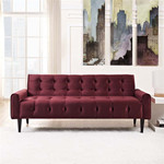 Modway Delve Mid Century Velvet Sofa