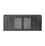 "Mayline Aberdeen Series 72"" Low Wall Cabinet ALC (4 Finish Options!)"