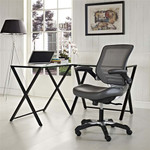 Modway Edge Mesh Back Task Chair with Vinyl Seat (7 Cool Colors!)