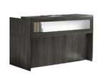 Mayline Aberdeen Small Modern Reception Desk (4 Finish Options!)