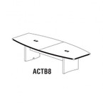 Mayline ACTB8 Aberdeen 8' Conference Table (Available with Power!)